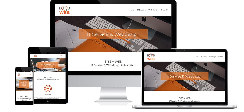 Responsive Design von BITS+WEB Jestetten