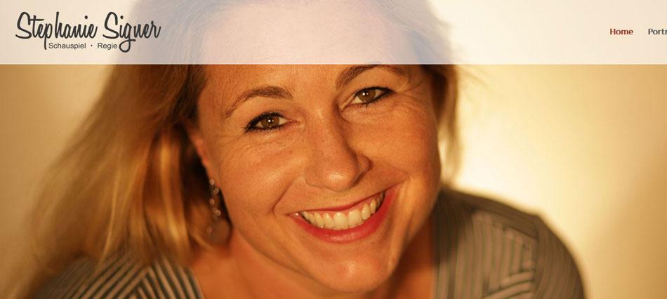 Stephanie Signer Schauspiel und Regeie